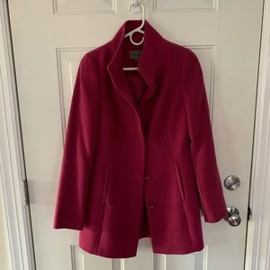Like new - Piperlime Tinley Road pink pea coat - S